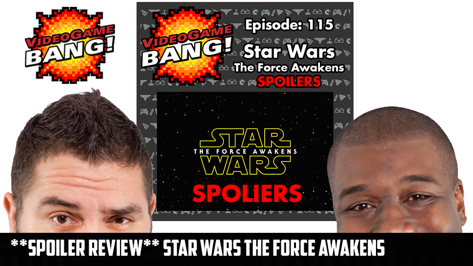 **SPOILER REVIEW** Star Wars the Force Awakens