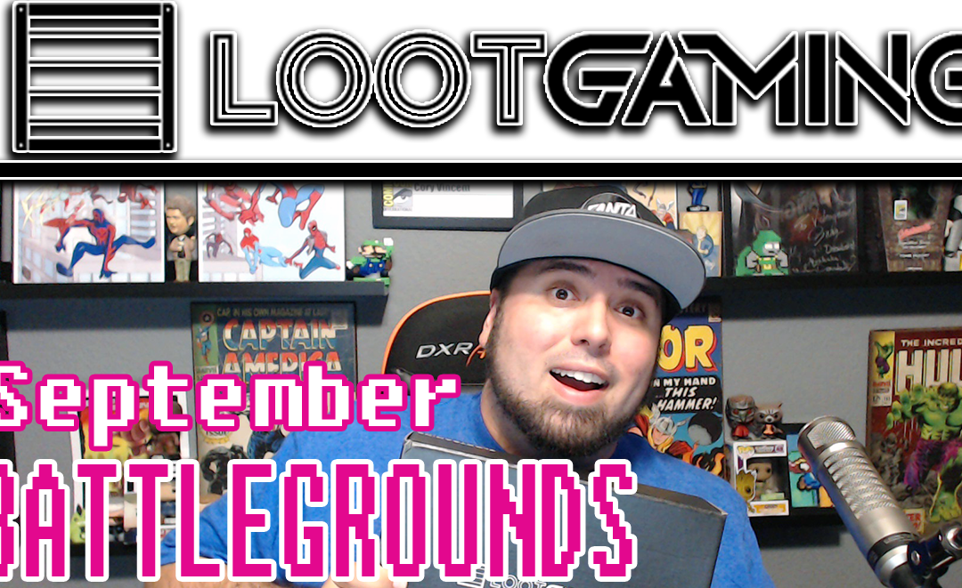 Loot Gaming September Unboxing
