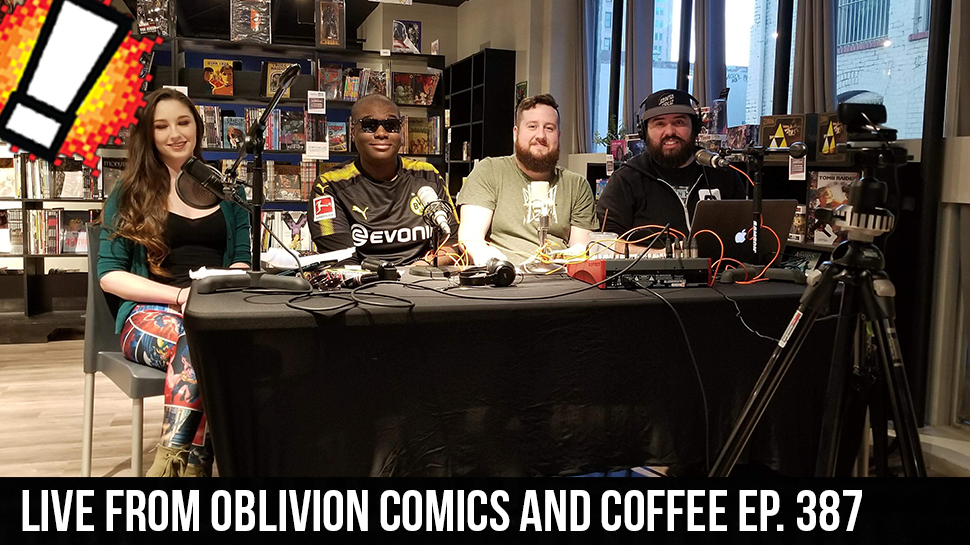 Live from Oblivion Comics and Coffee ep. 387