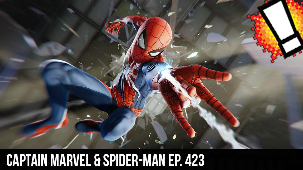 Captain Marvel & Spider-Man ep. 423