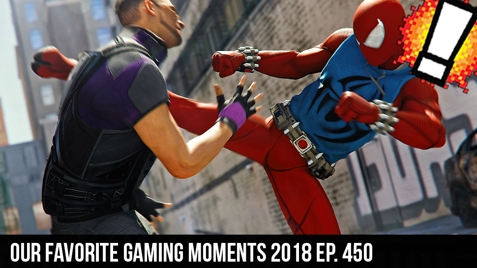 Our Favorite Gaming Moments 2018 ep. 450