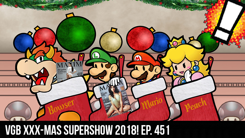 VGB XXX-MAS SUPERSHOW 2018! ep. 451