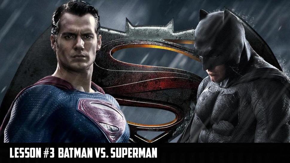 Lesson 3: Batman vs. Superman