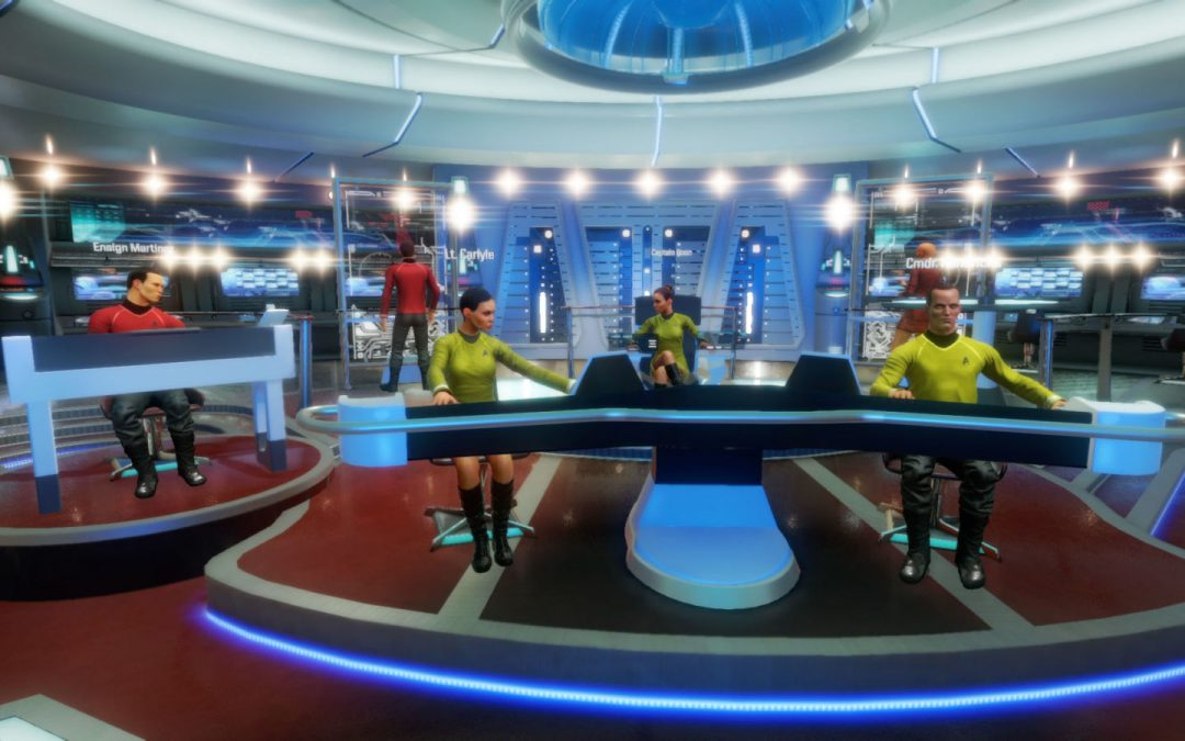 Why Ubisoft's 'Bridge Crew' could be the future of VR