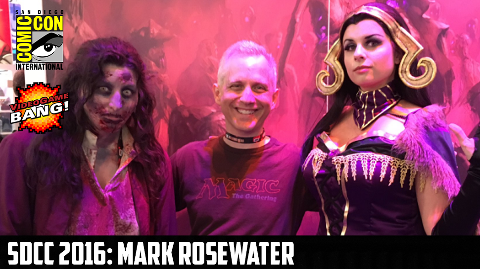 SDCC 2016: Mark Rosewater